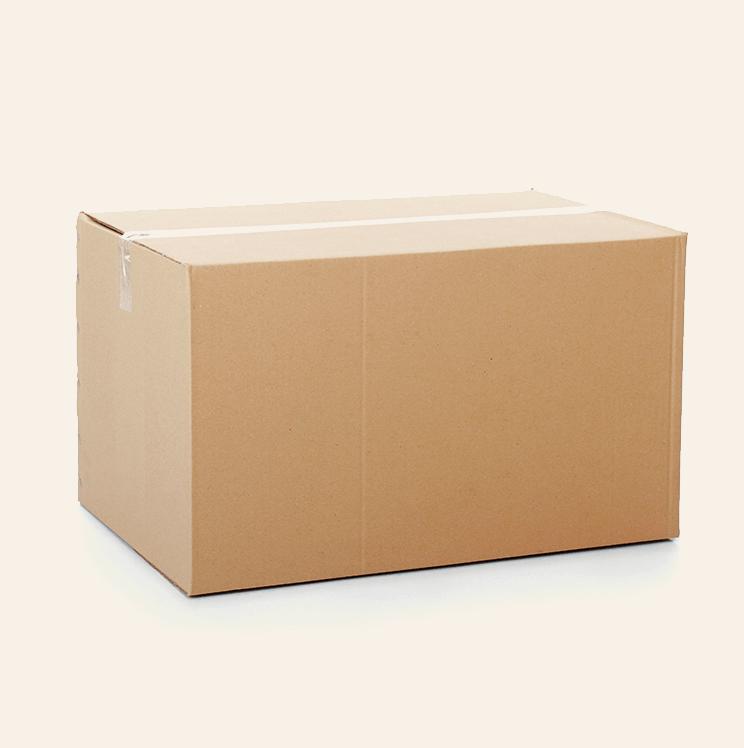 Gebrauchte Kartons